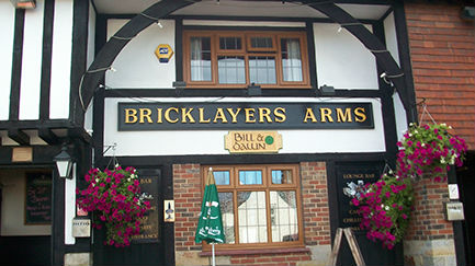 Bricklayers Arms Pub Crowborough East Sussex