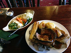 Roast Dinners at the Bricklayers Arms Crowborough East Sussex