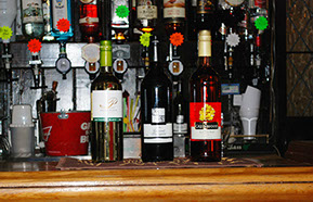 wine Selection at the Bricklayers Arms Crowborough East Sussex